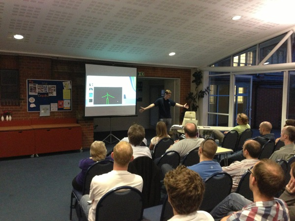 Kinect at Dev South Coast