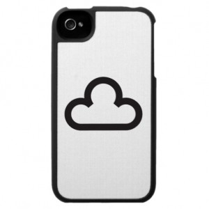 A cloud. On a phone.
